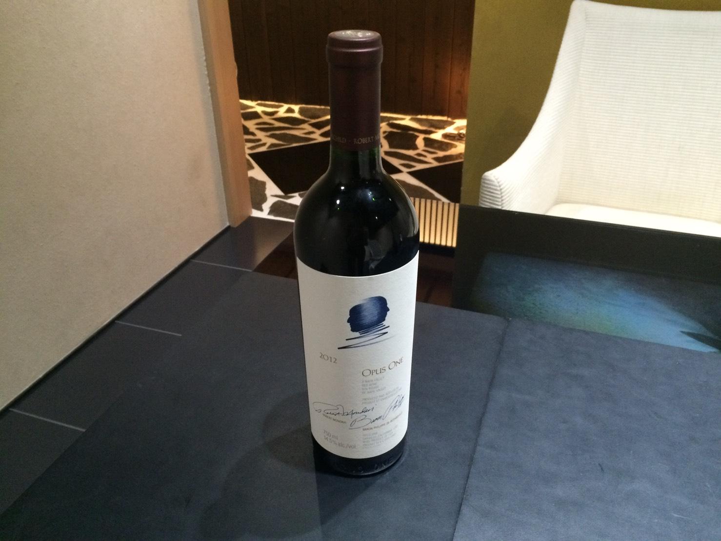 オーパス・ワン 2012 お酒 ワイン 買取 銀座 東京