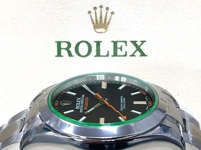 ロレックス(ROLEX) ミルガウス 116400GV ランダム品番 渋谷 買取