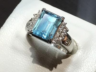 トルマリン(TIURMALINE) リング 指輪 プラチナ ダイヤモンド(DIAMOND)