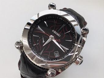 SEIKO セイコー ガランテ スプリングドライブ GMT アイアンハート 時計 買取 福岡 天神 博多 質屋