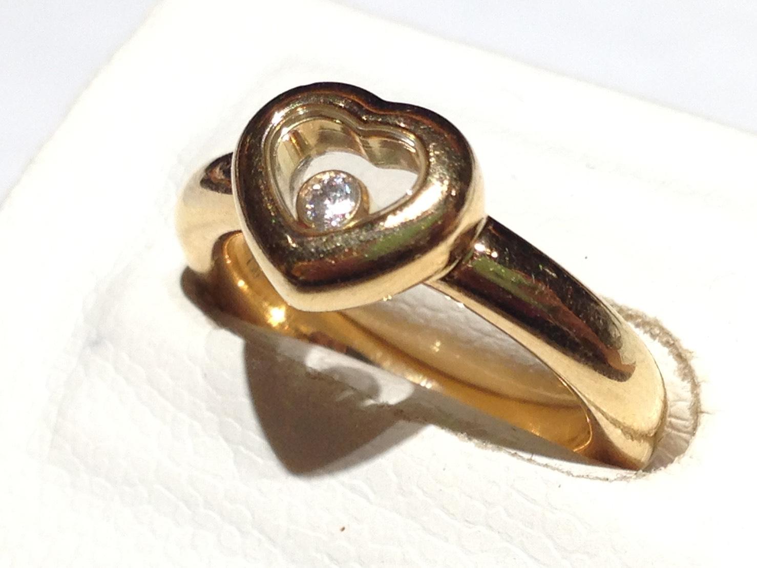 ショパール(Chopard) ハッピーダイヤモンド リング ブランドジュエリー 北山店