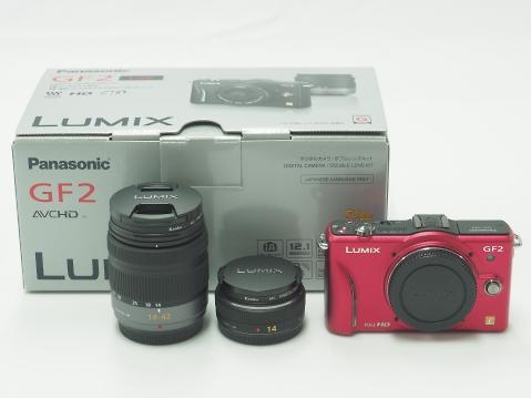 Panasonic(パナソニック) LUMIX(ルミックス) DMC-GF2 [ダブルレンズキット] ミラーレス一眼レフカメラ 買取 福岡・京都