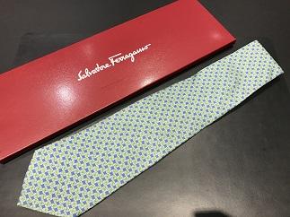 Salvatore Ferragamo サルヴァトーレ・フェラガモ ネクタイ 買取 福岡 天神 博多