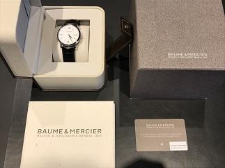 BAUME&MERCIER ボーム&メルシエ クラシマ 腕時計買取 質屋 福岡 天神 博多