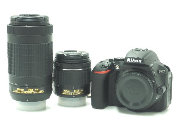 Nikon(ニコン) D5600 [ダブルズームキット] AF-P DX NIKKOR 18-55/70-300mm デジタル一眼レフカメラ 京都 買取
