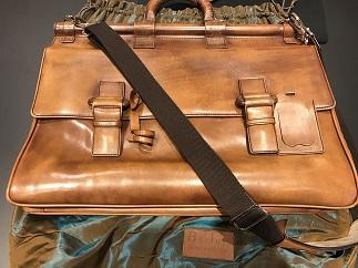 Berluti ベルルッティ 2wayバッグ レザー 書類カバン ブリーフケース 旅行バッグ 買取 質屋 福岡 天神 博多