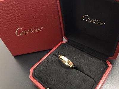 カルティエ(Cartier) ラニエールリング 750 ♯50 七条 京都 大阪 西日本宅配買取