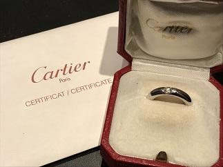 Cartier カルティエ エリプスリング ダイヤモンド ブランドジュエリー買取 福岡 天神 博多 質屋