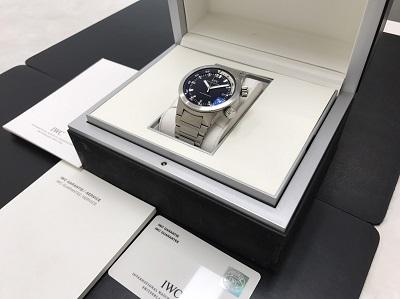 IWC インターナショナルウォッチカンパニー アクアタイマー IW354805 腕時計 美品 高価買取 出張買取