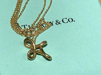 ティファニー(Tiffany) ネックレス インフィニティ アクセサリー K18 京都 四条 烏丸 河原町 買取