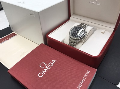 OMEGA オメガ スピードマスター オートマチック Ref.3513.50 腕時計 高価買取 七条店 西院