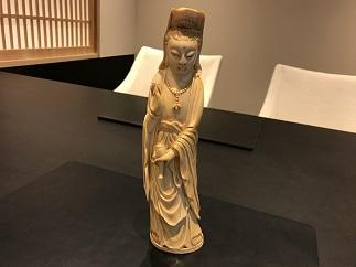 象牙 置物 仏像 彫り物 骨董買取 福岡 天神 博多 赤坂 薬院 質屋