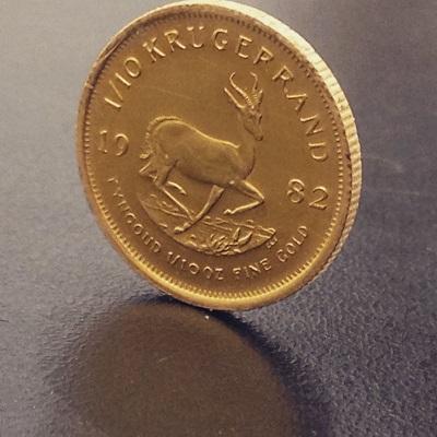 コイン K22 916 クルーガー 金 貴金属 金貨 地金 北山 京都 大阪 神戸 出張買取