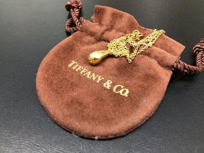 ティファニー(Tiffany&Co.) ティアドロップペンダント 750 ブランドジュエリー 高価買取 マルカ 北山 紫野 松ヶ崎