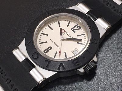 ブルガリ(BVLGARI)アルミニウム AL32TA 時計買取 銀座渋谷京都有楽町三宮