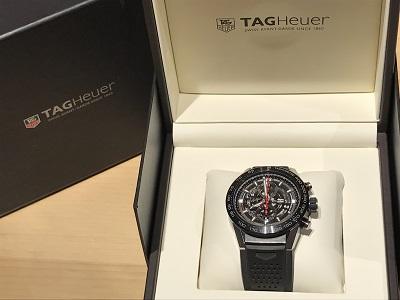 タグホイヤー(TAGHEUER) カレラ クロノグラフ CAR2A1Z 腕時計 京都 四条 烏丸 河原町 買取