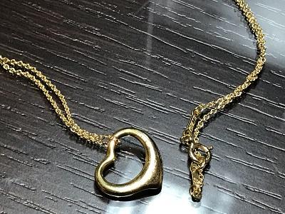 ティファニー(Tiffany) オープンハート ネックレス