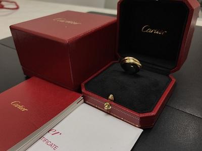 CARTIER カルティエ トリニティリング 750 ゴールド ジュエリー 高価買取 七条店 西院