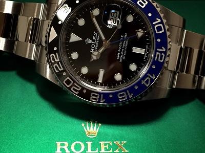 ロレックス(ROLEX)GMTマスターII Ref.116710BLNR ブルーブラック