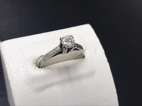 ダイヤモンド Pt900 0.41ct 宝石 プラチナ 貴金属 地金 七条 京都 大阪 神戸 出張買取
