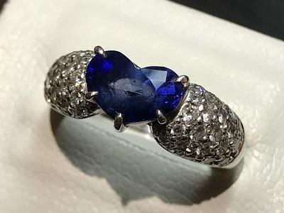 指輪 リング ダイヤモンド(DIAMOND) サファイア(SAPPHIRE)京都 四条 烏丸 河原町 買取