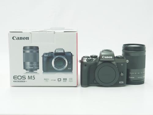 CANON キヤノン EOS M5 EF-M18-150 IS STMレンズキット デジタルカメラ 新品 買取 京都 四条