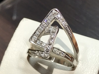 ダイヤモンド(DIAMOND) リング 指輪 プラチナ ジュエリー 宝石 京都 四条 烏丸 河原町 買取