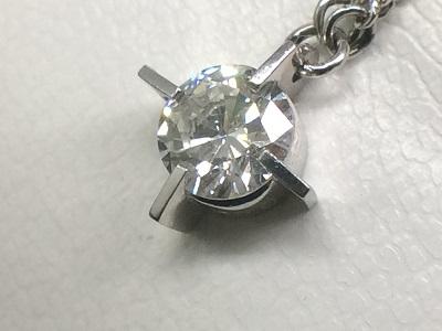 ダイヤモンドペンダント Pt850 0.50ct SIクラス 高価買取 マルカ 北山 松ヶ崎 修学院