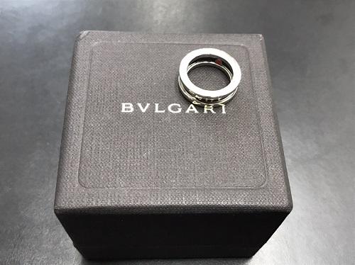 ブルガリ(BVLGARI) ビーゼロワン セーブザチルドレン チャリティリング SV925×黒セラ 北山 京都 大阪 神戸 買取