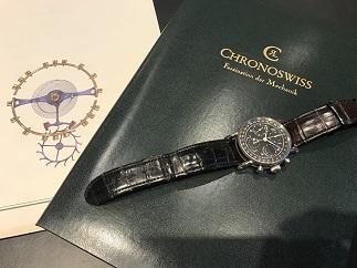 CHRONOSWISS クロノスイス ルナ 時計買取 質屋 福岡 天神 博多 赤坂 薬院