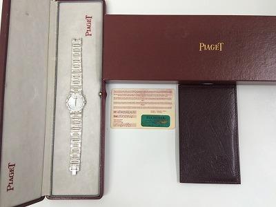 ピアジェ ミニダンサー 750 ホワイトゴールド
