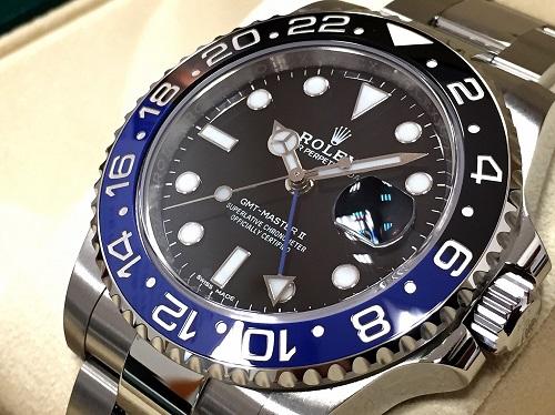 ロレックス GMTマスターⅡ 時計 116710BLNR ロレックス買取 大阪心斎橋