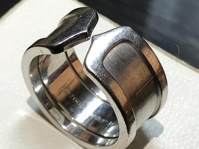 カルティエ(CARTIER) 2Cリング  指輪 ジュエリー 京都 四条 烏丸 河原町 買取り