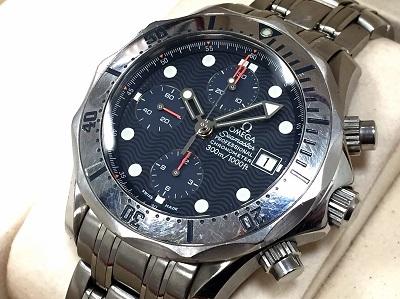 オメガ(OMEGA) シーマスター プロフェッショナル 300m 宅配買取 マルカ 時計 買取