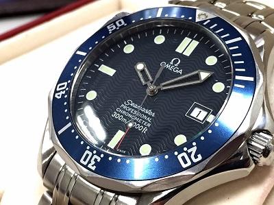 オメガ(OMEGA)シーマスター プロフェッショナル 2531.80 高価買取 時計 マルカ 北山