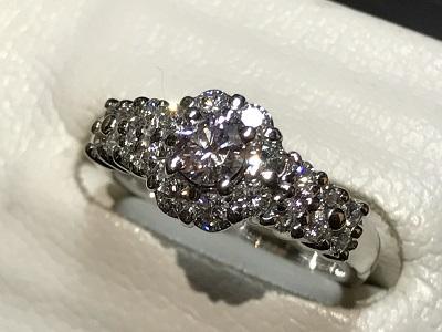 ダイヤモンド(DIAMOND) 指輪 ダイヤ ピンクダイヤ リング 京都 四条 烏丸 河原町 買取
