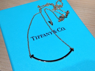 ティファニー(Tiffany)Tスマイル ネックレス ジュエリー 京都 四条 烏丸 河原町 買取