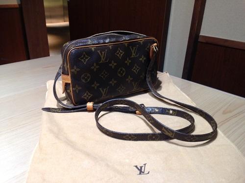 ルイヴィトン Louis Vuitton マルリーバンドリエール M51828 モノグラム 買取 銀座
