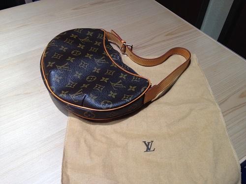 ルイヴィトン Louis Vuitton クロワッサンPM モノグラム M51510 買取 銀座