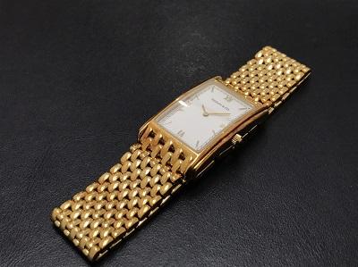 TIFFANY&Co. ティファニー メンズウォッチ 750YG イエローゴールド 無垢 腕時計 高価買取 七条店 西院