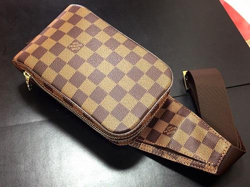 ルイヴィトン Louis Vuitton ジェロニモス N51994 ダミエエベヌ 買取 出張 渋谷
