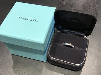 Tiffany & Co. ティファニー ドッツリング プラチナ ダイヤモンド ブランドジュエリー 買取 福岡 天神 博多 赤坂 薬院