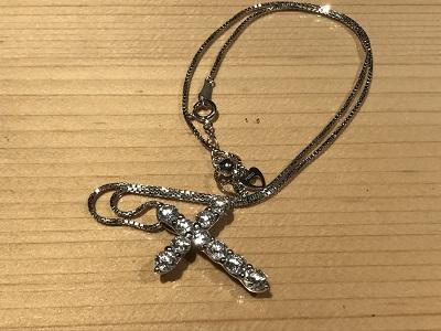 ダイヤモンド(DIAMOND) クロス ペンダント ダイヤ ネックレス 宝石 買取 京都 四条 烏丸 河原町
