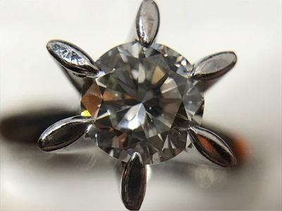 プラチナダイヤモンドリング 1.01ct 立爪 一粒 高価買取 渋谷出張買取