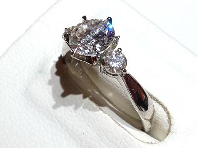 ダイヤモンド(DIAMOND)指輪 リング プラチナ 宝石 ジュエリー 京都 四条 烏丸 河原町 買取り