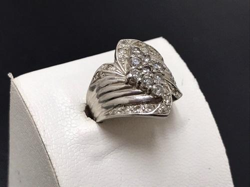 ダイヤモンドリング Pt900 1.00ct 宝石 プラチナ 貴金属 北山 京都 大阪 神戸 買取