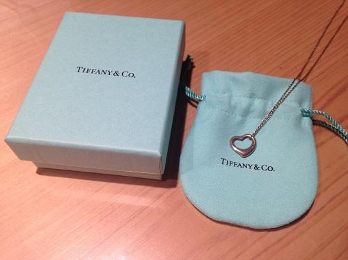ティファニー Tiffany&Co オープンハート ネックレス 925 シルバー 宅配買取 東日本