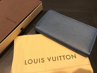 LOUIS VUITTON ルイヴィトン ジッピーオーガナイザー エピ M60619 未使用 ブランド品買取 高い 質屋 福岡 天神 博多 赤坂 薬院