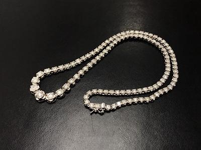 メレダイヤモンド 10.00ct ネックレス Pt850 プラチナ 宝石 高価買取 出張買取