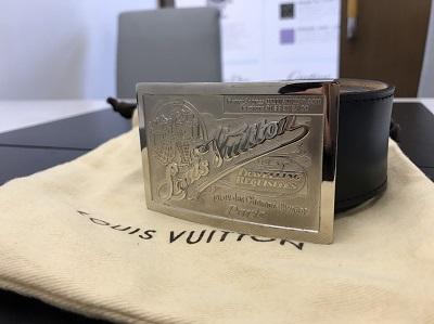 LOUIS VUITTON ルイヴィトン サンチュール・ジーンズ M6812U ベルト 中古 美品 高価買取 七条店 西院